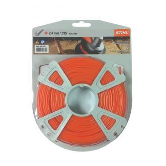 STIHL Round Nylon 2.4mm Orange - 86m