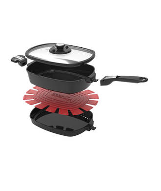 Weber® Q™ Ware Small Casserole/Frying Pan Pack