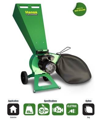 Hansa C3e Brush Chipper