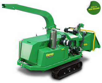 Hansa C60RX Tracked Brush Chipper