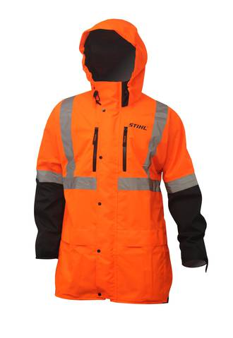 STIHL Hi Vis Wet Weather Jacket