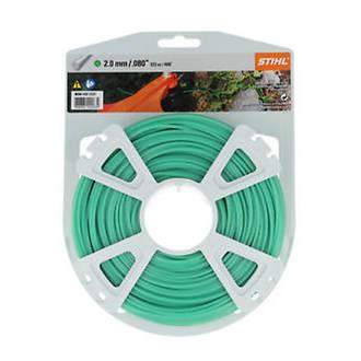STIHL Round Nylon 2mm Green - 123m