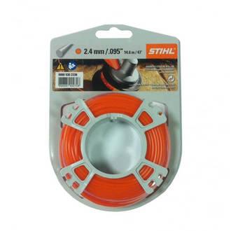 STIHL Round Nylon 2.4mm Orange - 14.6m