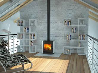 Yunca Oscar Fireplace