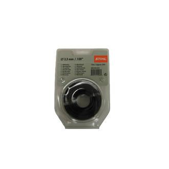 STIHL Round Nylon 3.3mm Black - 6.8m