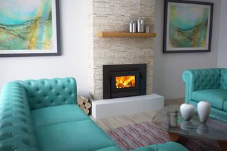 Yunca Xander Insert Fireplace