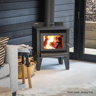 Metro ECO Tiny Rad Fireplace