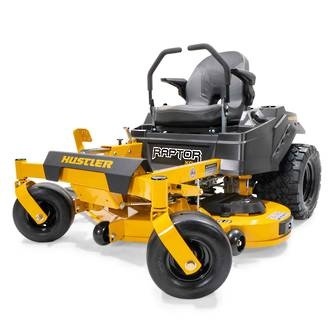"""Hustler Raptor XD 48"""" Zero Turn Lawnmower"""