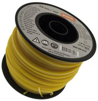 STIHL Square Nylon 3mm Yellow - 168m