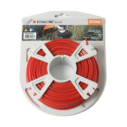 STIHL Square Nylon 2.7mm Red - 34m