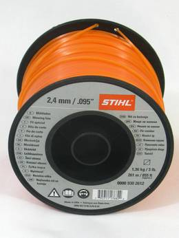 STIHL Square Nylon 2.4mm Orange - 261m