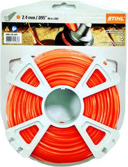 STIHL Square Nylon 2.4mm Orange - 86m