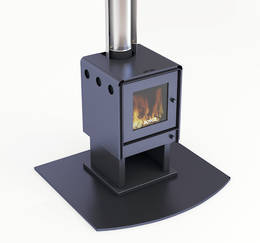 Bosca Limit 380 Fireplace