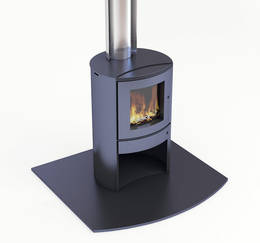 Bosca Firepoint 360 Fireplace