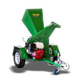 Hansa C13 Brush Chipper (Road Towable - Swivel Outlet)