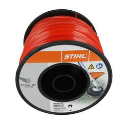 STIHL Square Nylon 2.7mm Red - 215m