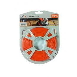 STIHL Round Nylon 2.4mm Orange - 43m
