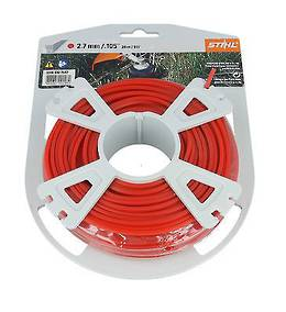 STIHL Square Nylon 2.7mm Red - 68m