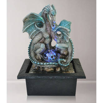 Tabletop  Fountain - Dragon with Ball