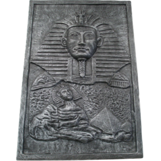 Egyptian Wall Plaque Grey
