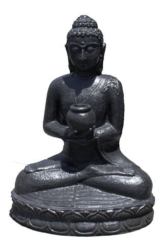 Sitting Buddha with Bowl