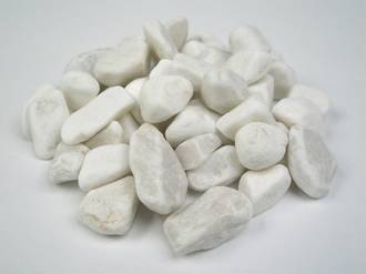 Rumbled Marble White