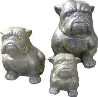 Bull Dog Set Of 3