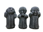 hear no evil see no evil speak no evil (Set of 3)