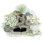 Paradise Waterfall Set - Large