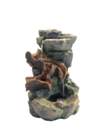 Tabletop - Flowing Rocks with Moss