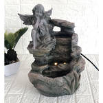 Tabletop Fountain - Fairy on Rock