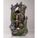 Tabletop - Tree Trunk Waterfall With LED