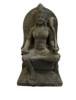 Devi Sri Sitting Antique Statue