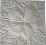 Frangipani Wall Sculpture