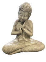 Buddha Sitting - Grey