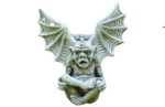 Horned Gargoyle Plaque