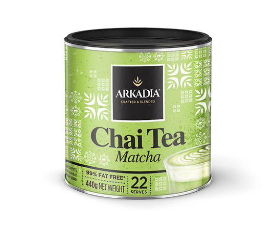 Arkadia Matcha Green Tea Latte 440gm
