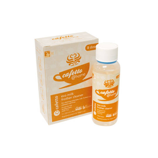 Cafetto@Home Eco Milk Frother Cleaner 2 x 120ml