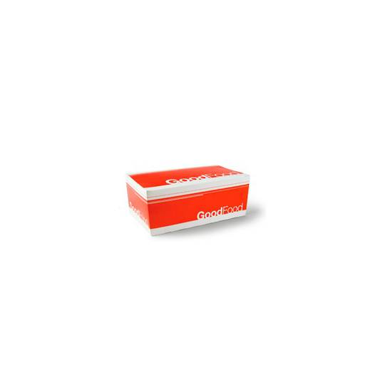Detpak Large Snack Box Good Food x 400 (D3505W)