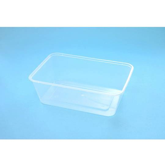Genfac 750ml Rectangular Container x 500