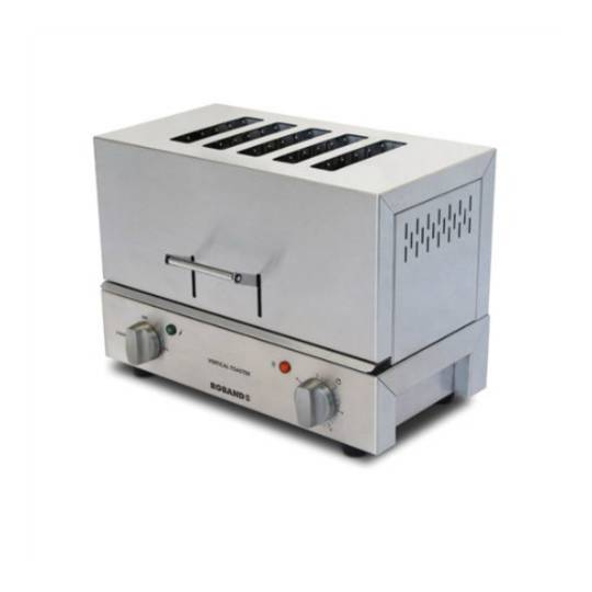 Roband TC55 Vertical Toaster - 5 Slice