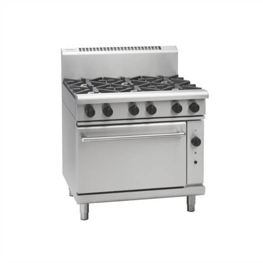 Waldorf RN8610GC 900mm Gas Range Convection Oven - 2/1 GN