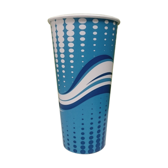 Wave 24oz 800ml Milkshake Cup x 42