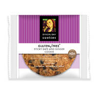 BBCC Gluten Free Sticky Date & Ginger Single Wpd Café Cookie x 12