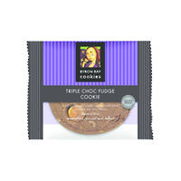 BBCC Triple Chocolate Fudge Single Wpd Café Cookie x 12