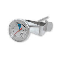 Coffee Thermometer Short 14 cm 25mm Dial