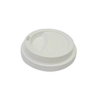 EYC & Esp G White 12/16oz Travel Lids x 50