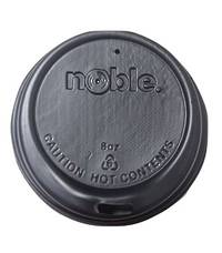 Noble 8 oz BLACK Sipper Lids x 1000