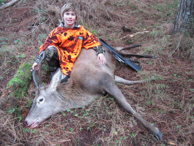 0044 Izaak Mirfin First deer 2014 650