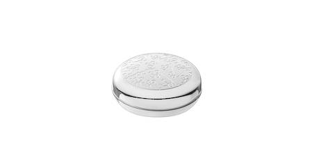 Constellation Engraved Silver Sweet Box